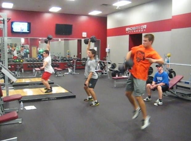 Endeavor-Sports-Performance-Athletic-Development-Sports-Training-1-Arm-DB-Hang-Snatch